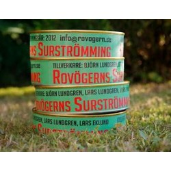 Rovögerns Surströmming fileer